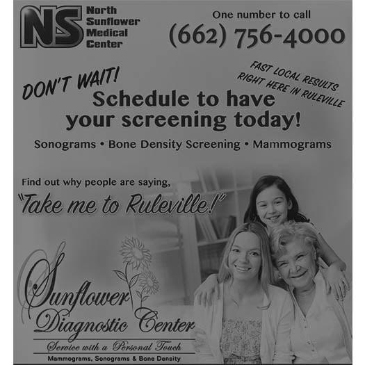 North Sunflower Medical Center advertisement