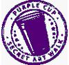 Purple Cup Secret Art Walk logo