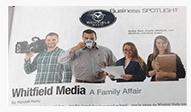 photo of magazine article cutout